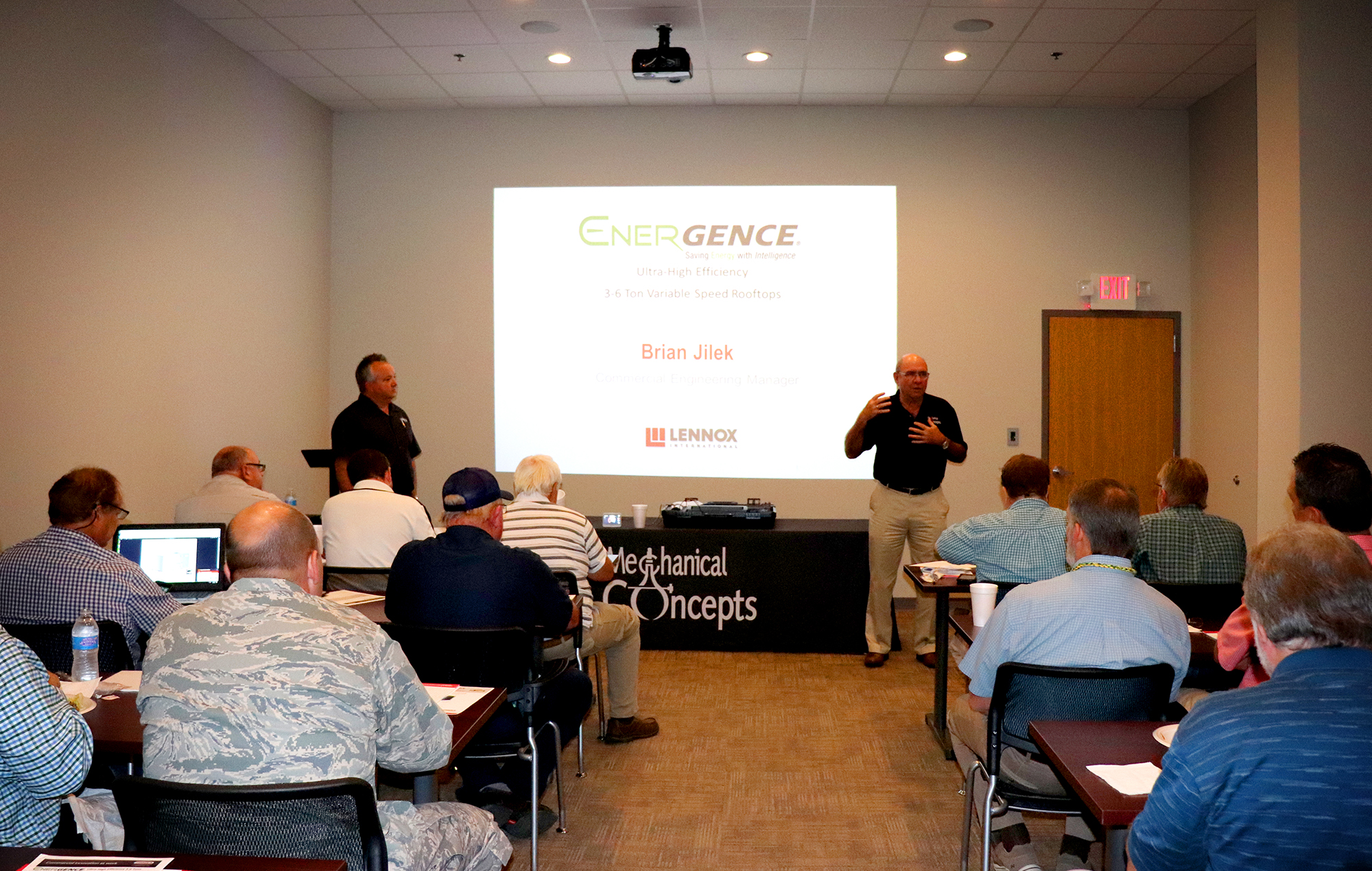 Lunch + Learn: Lennox Energence ULTRA - Mechanical Concepts