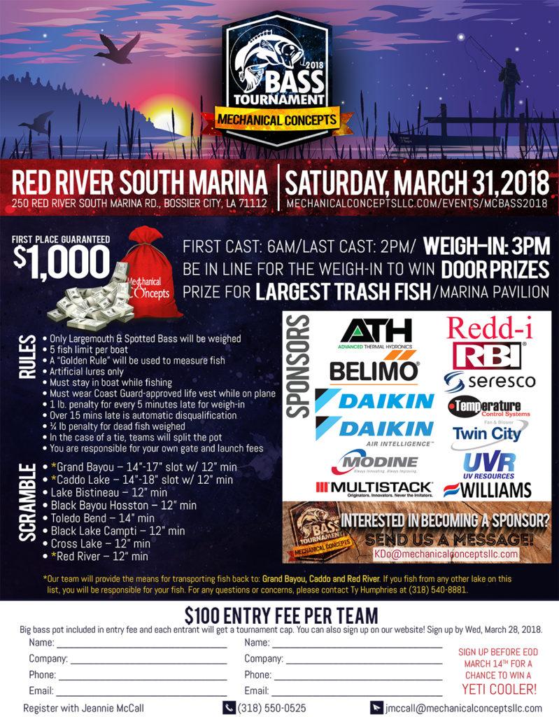 MC Bass Tournament 2018 @ Red River South Marina   Bossier City   Louisiana   United States