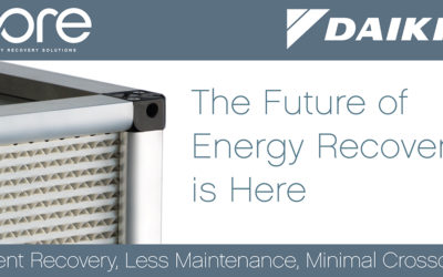CORE Energy Recovery Now Available on the Daikin Rebel® Rooftop System