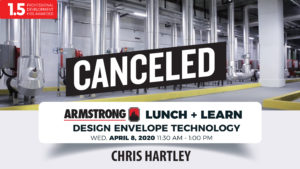 Armstrong Lunch + Learn (Canceled) @ Mechanical Concepts | Shreveport | Louisiana | United States