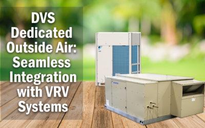 DVS Dedicated Outside Air System for VRV